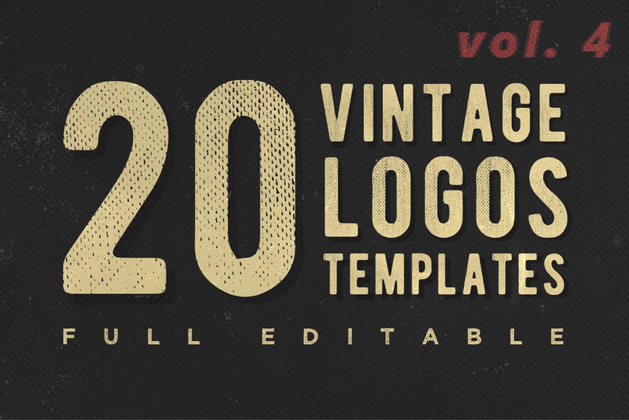 Free Vintage Logo Templates