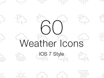 IOS Weather Icons