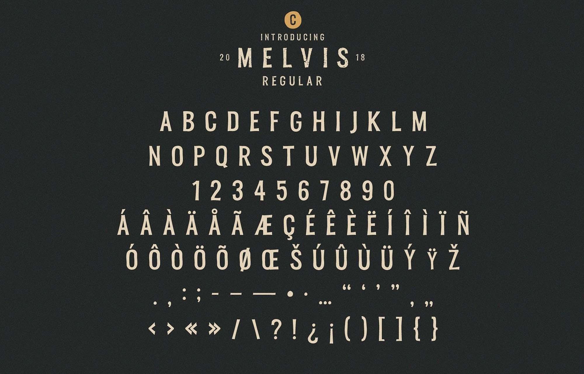 Melvis Font