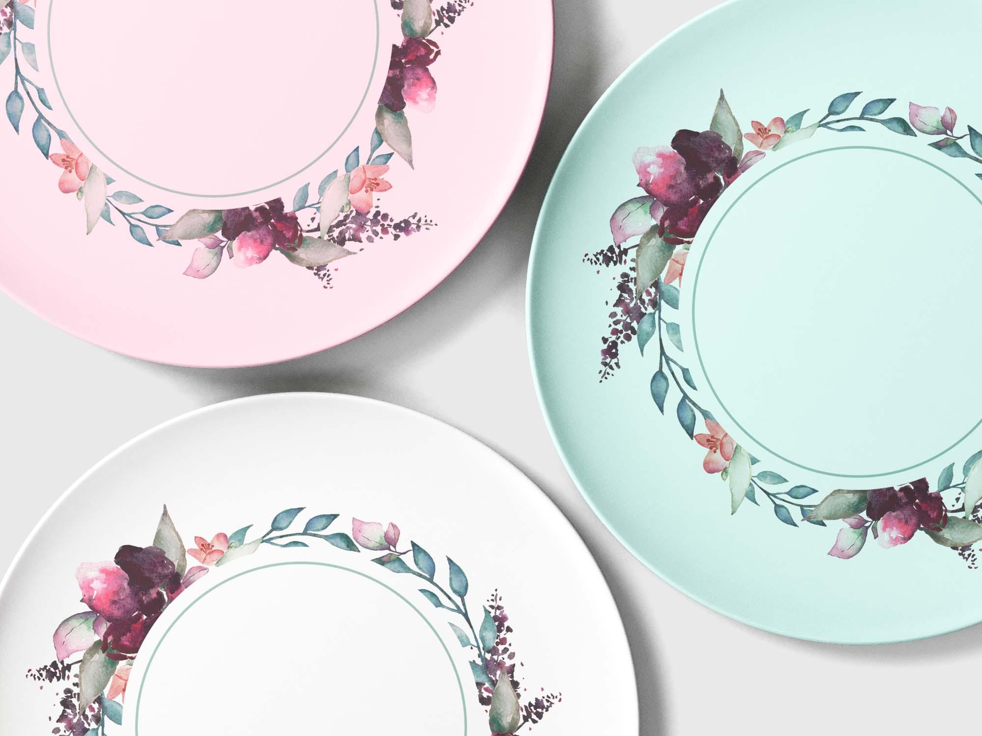 Overhead Plates Mockup