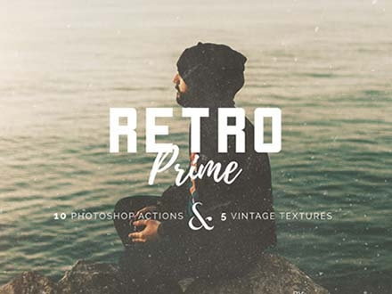 Retro Photoshop Action