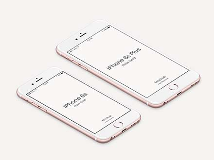Rose iPhone Mockup