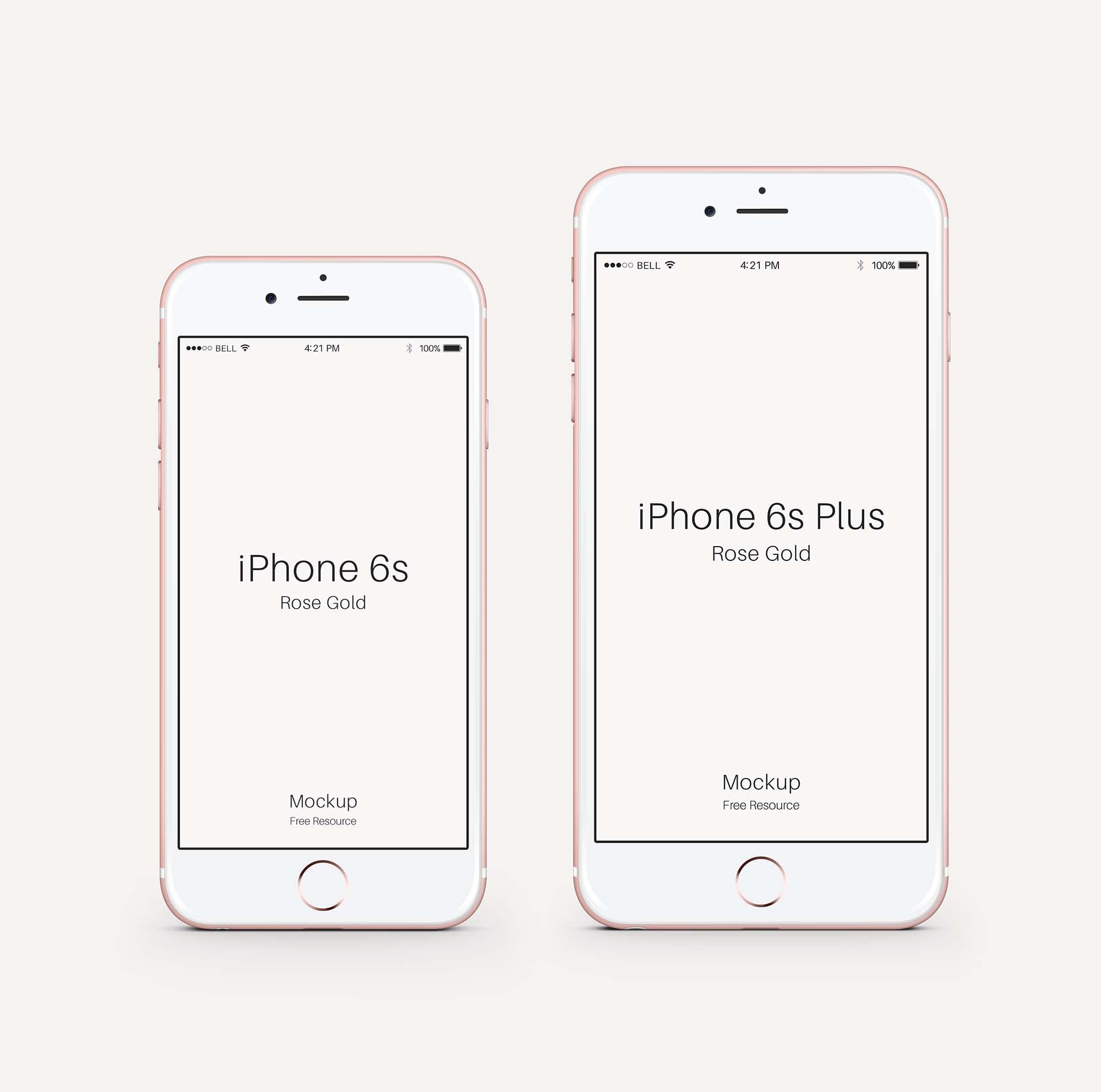 Rose iPhone Mockup