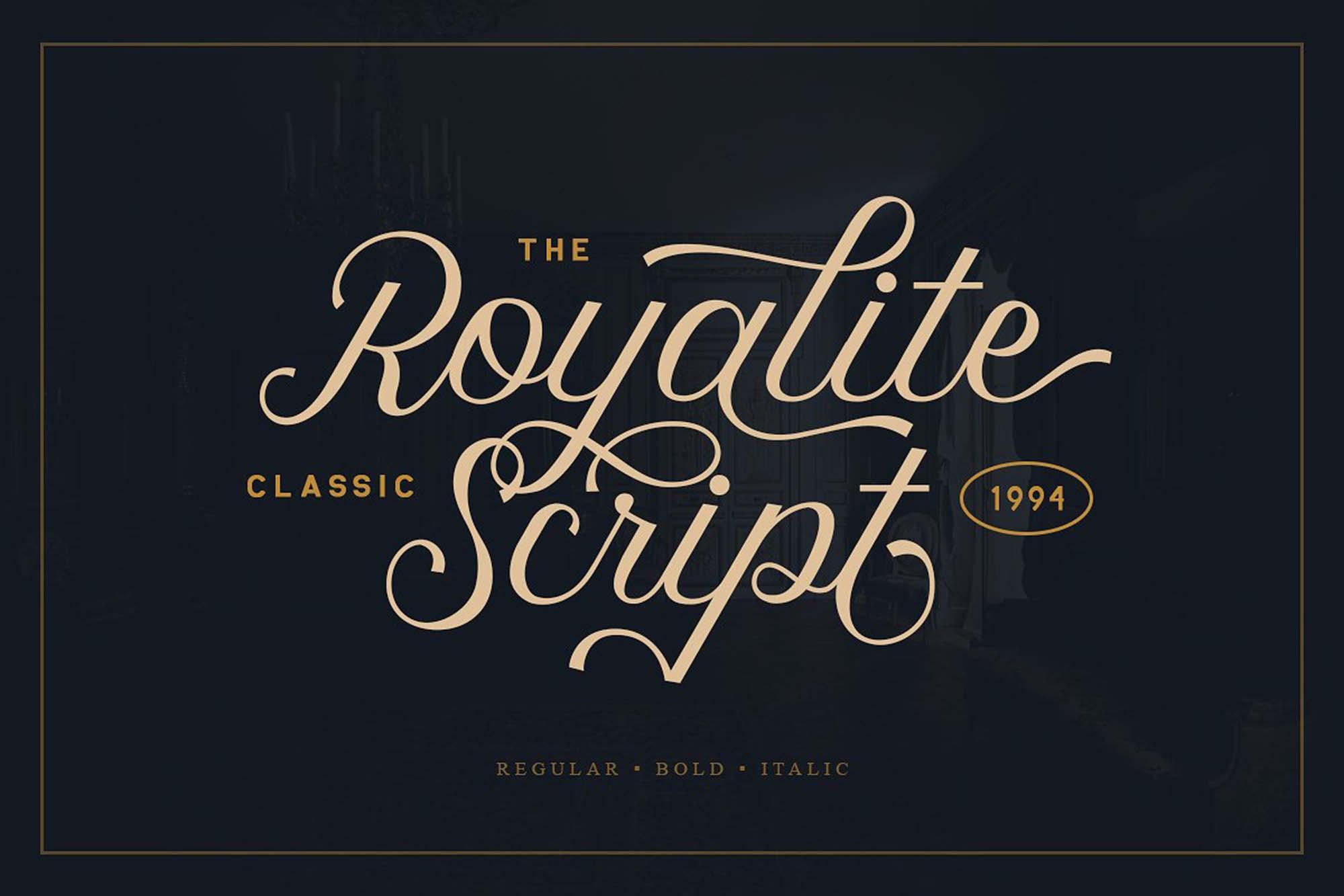 Royalite Font
