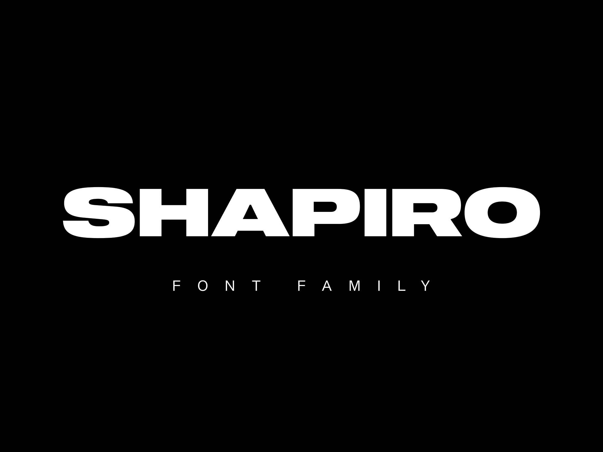 Shapiro Font
