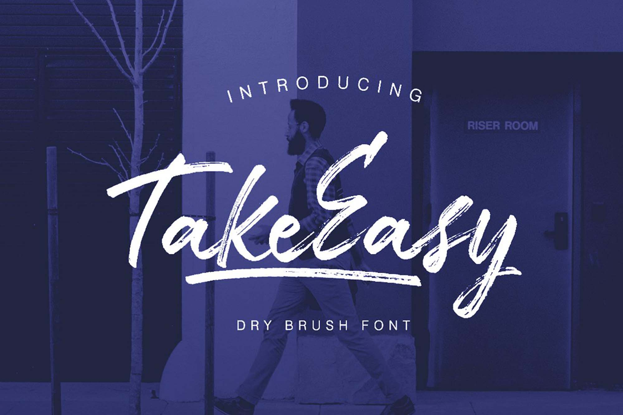 TakeEasy Brush Font