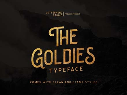 The Goldies Font