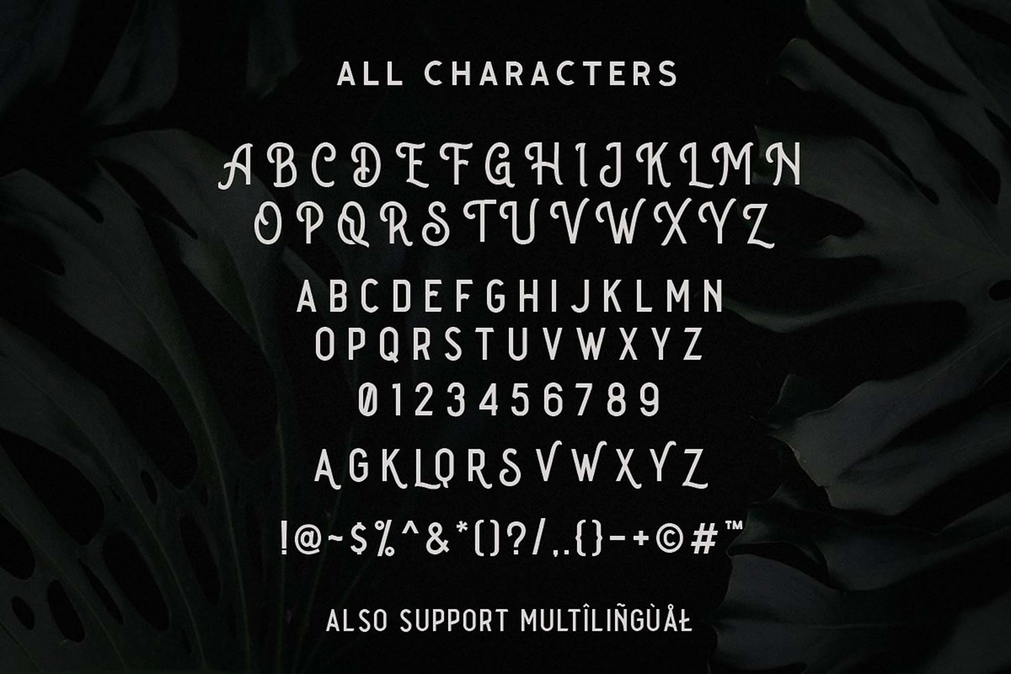 The Goldies Font Letters