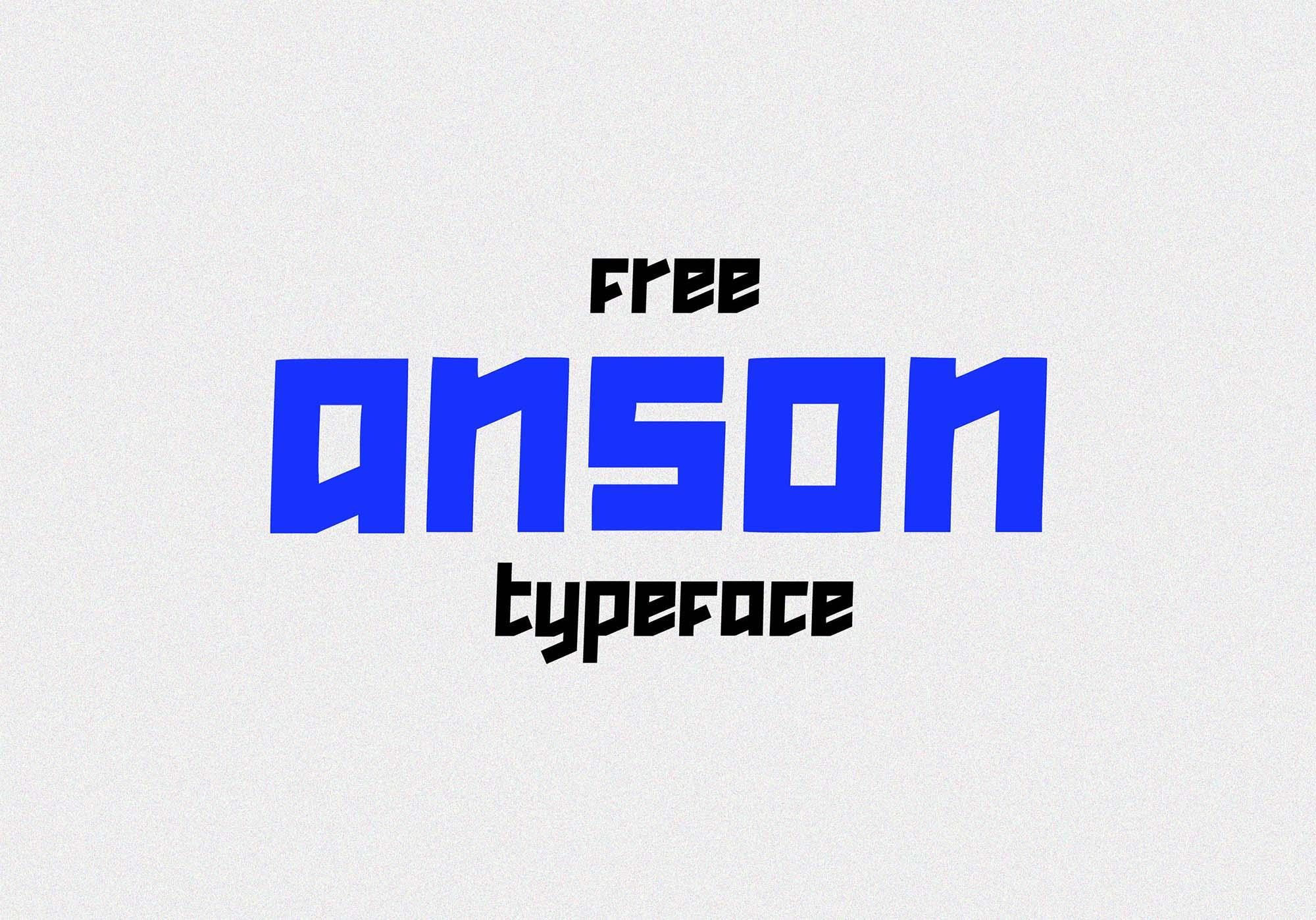 Anson Free Font