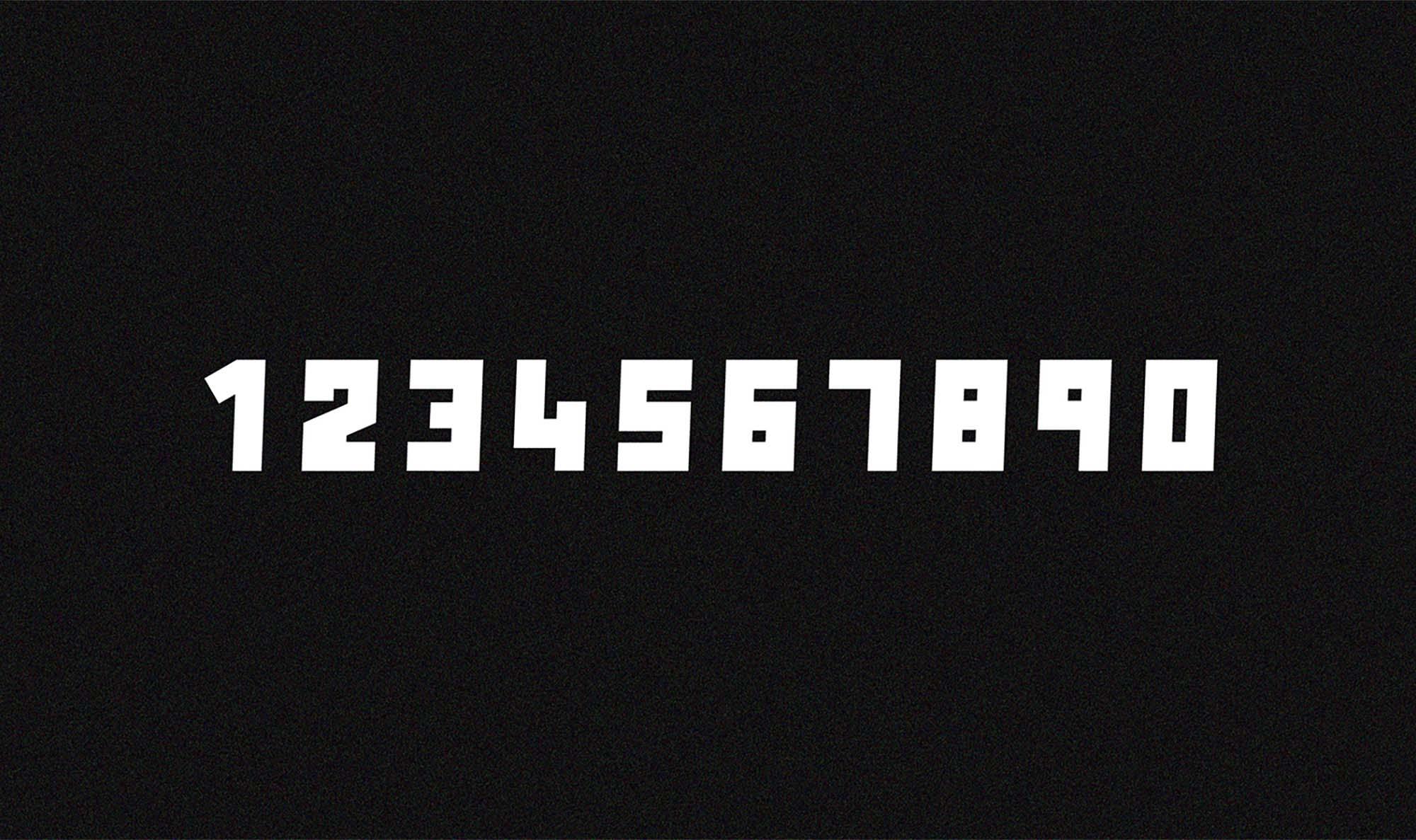 Anson Font Numerals