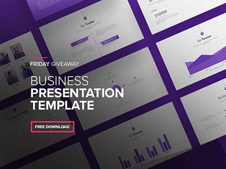 Business Presentation Template