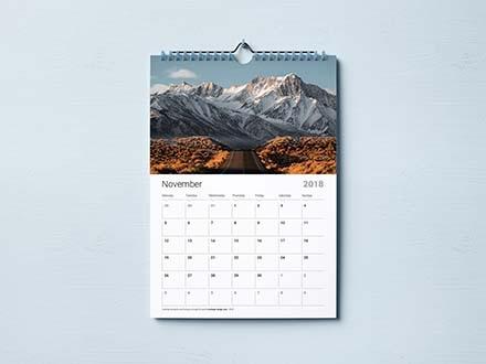 Calendar Mockup