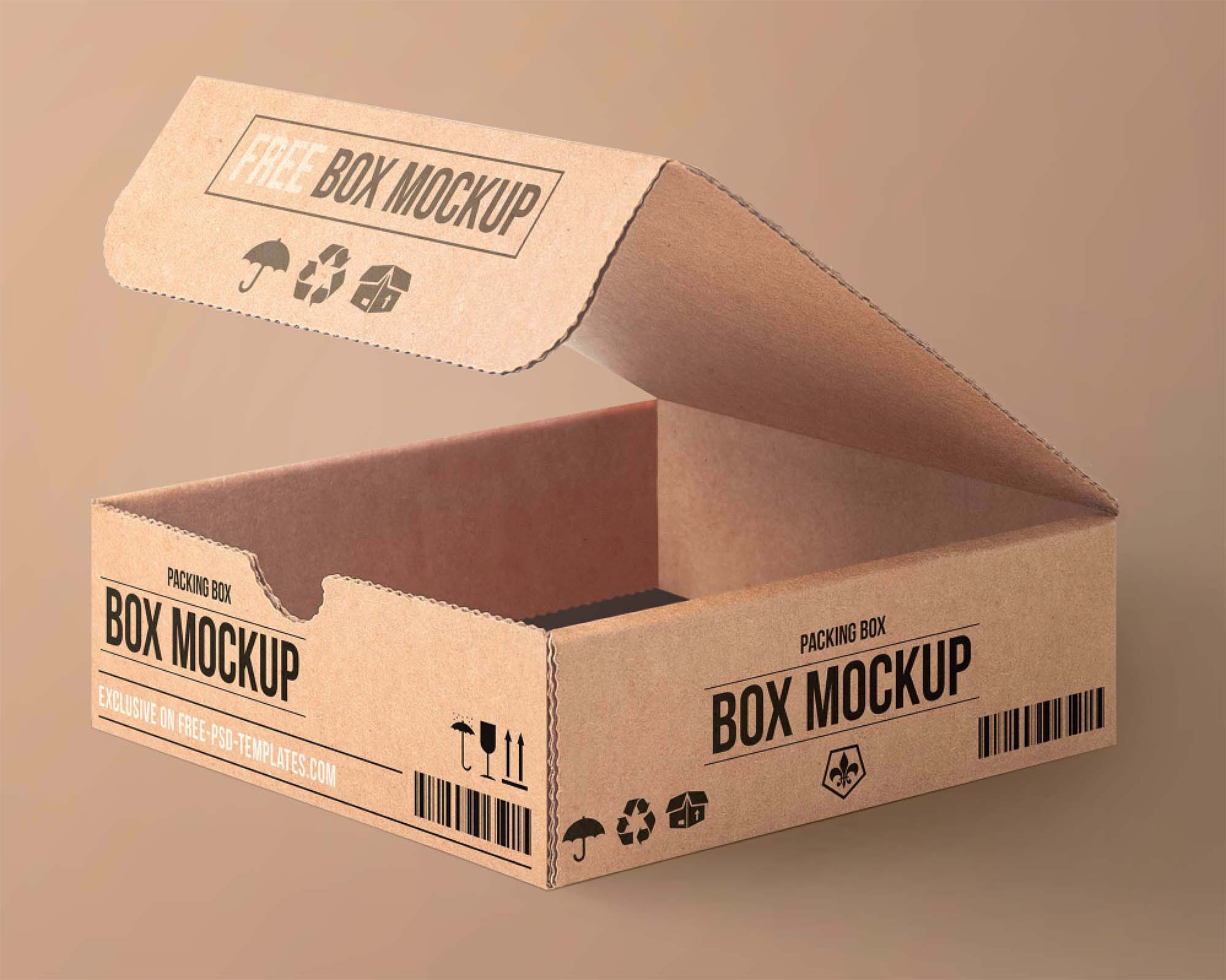 Cartoon Packaging Mockup