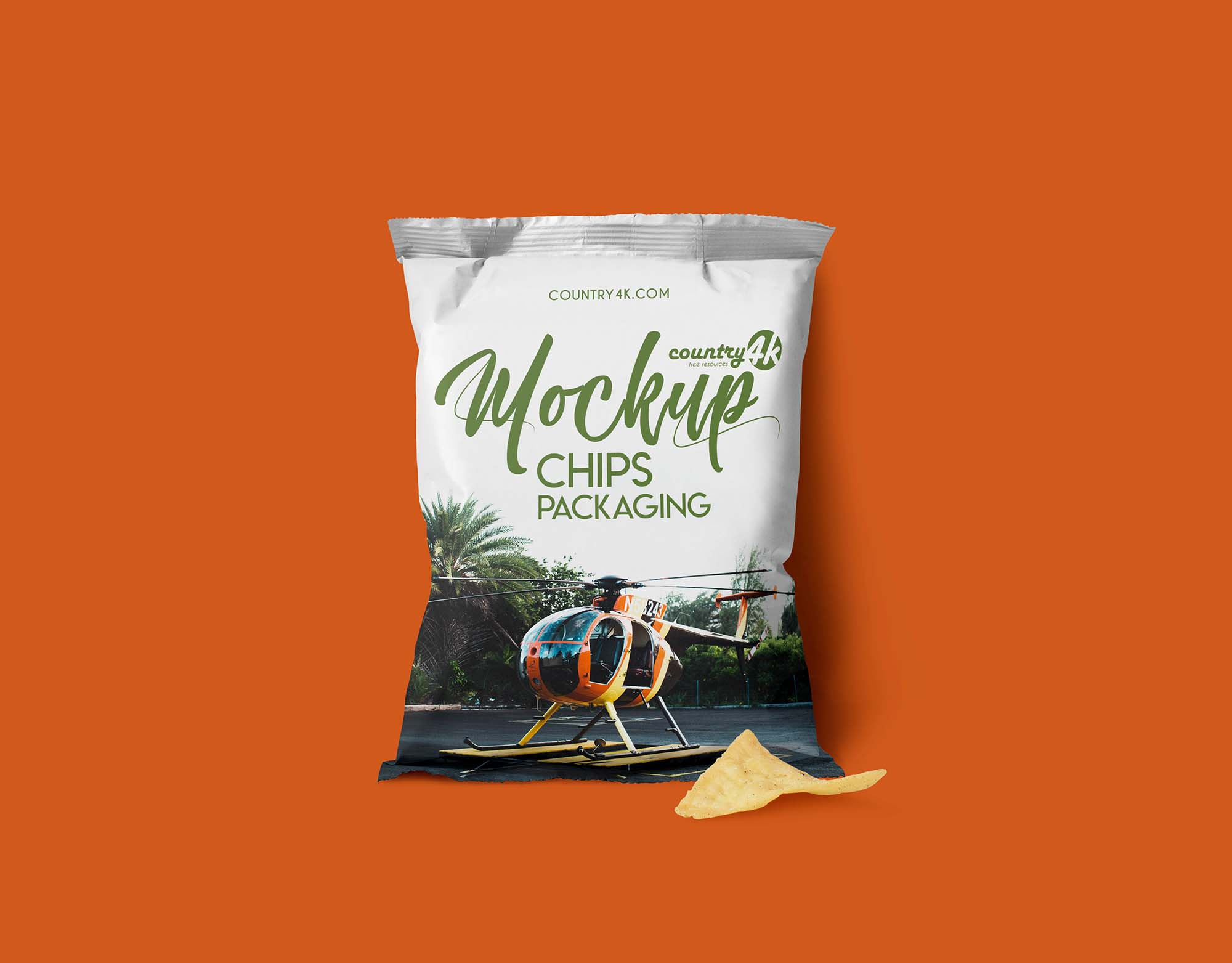 Chips Package Mockup