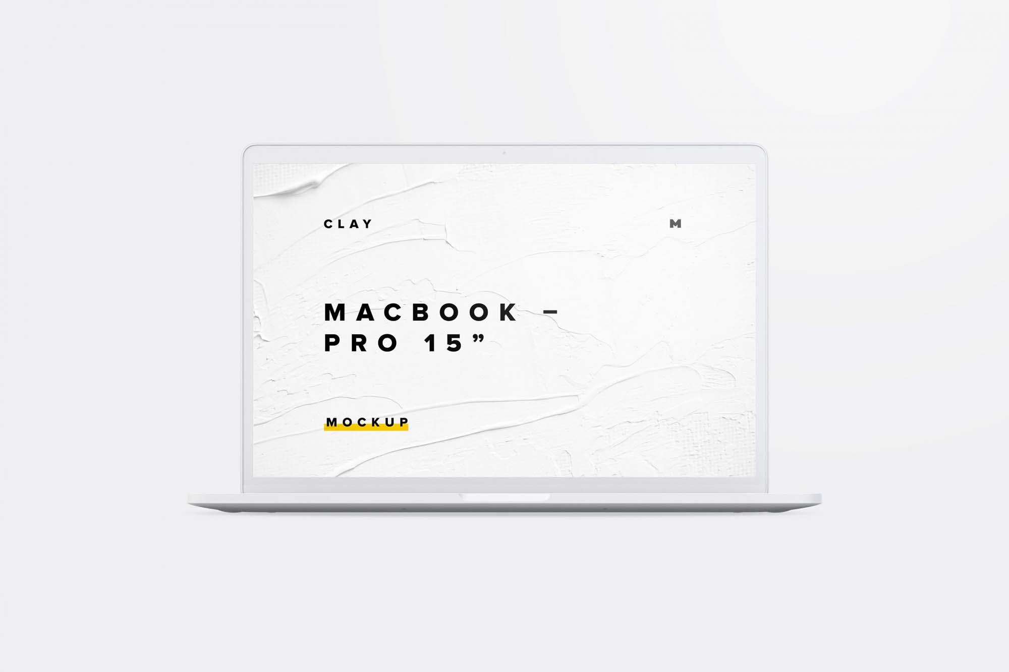 Clay Mackbook Pro
