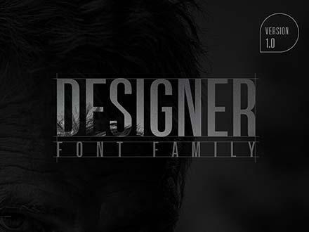 Designer Font Family