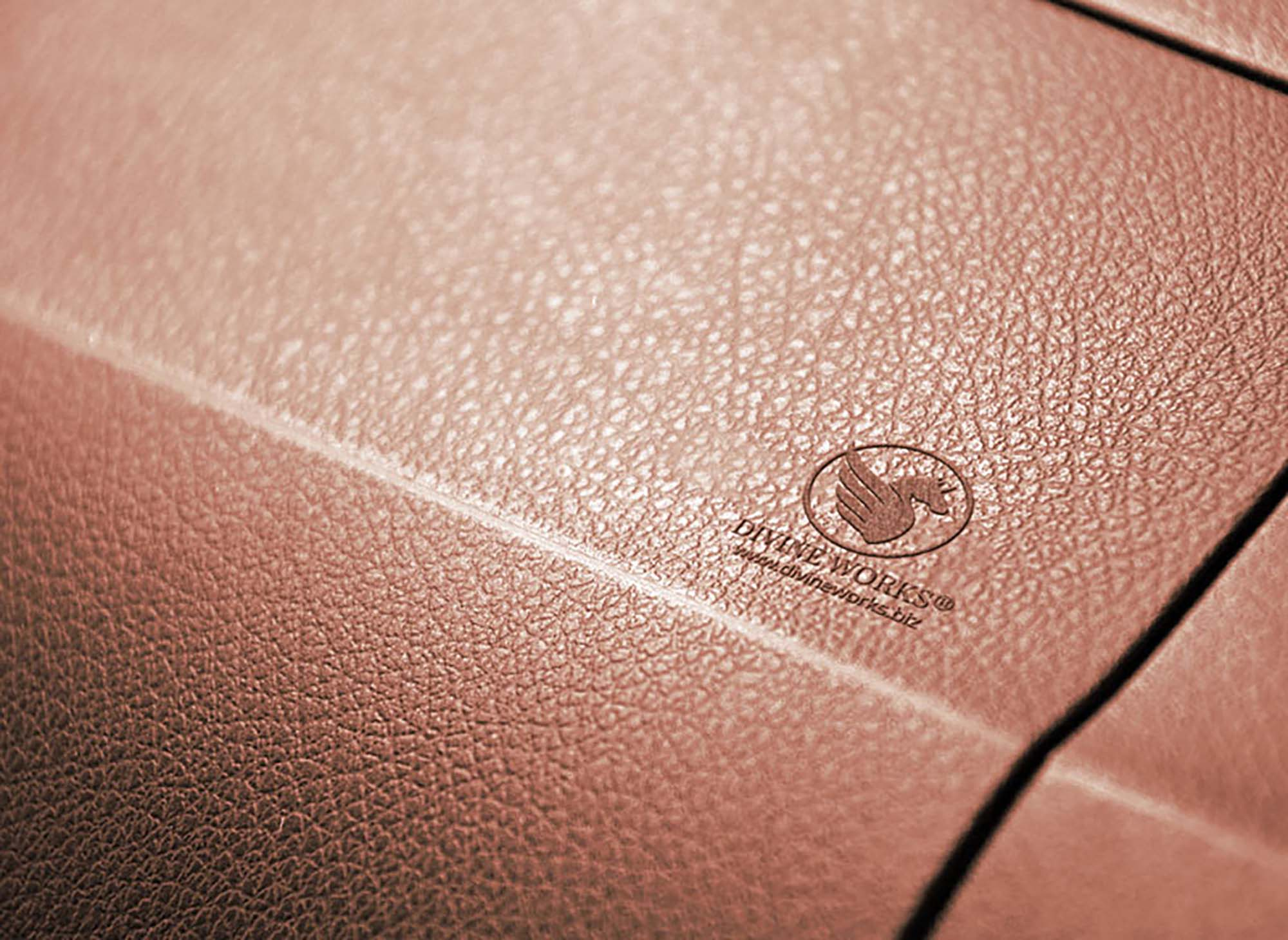 Leather Embossed Logo Mockup