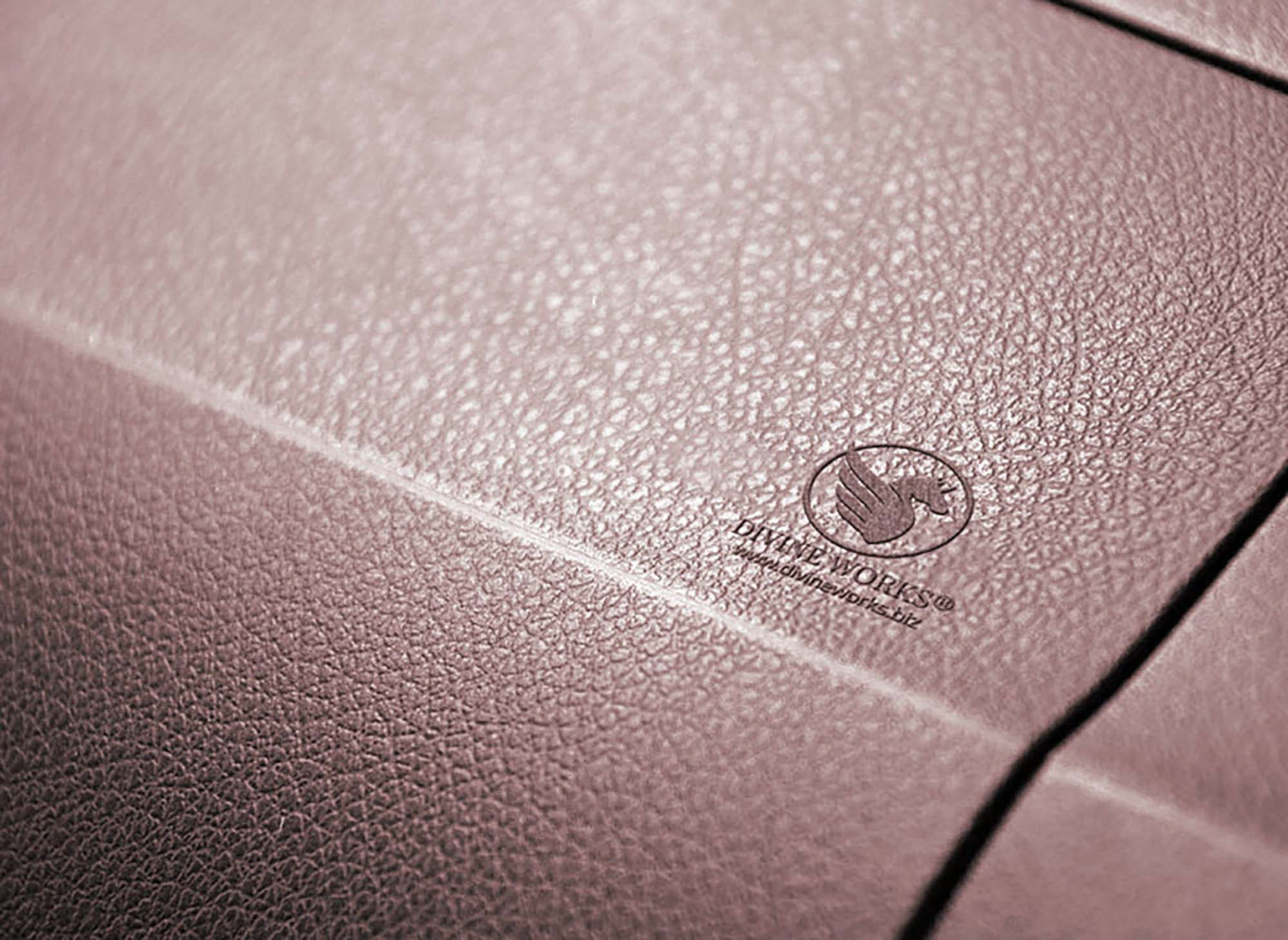 Leather Embossed Logo Mockup