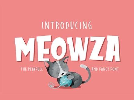 Meowza Font