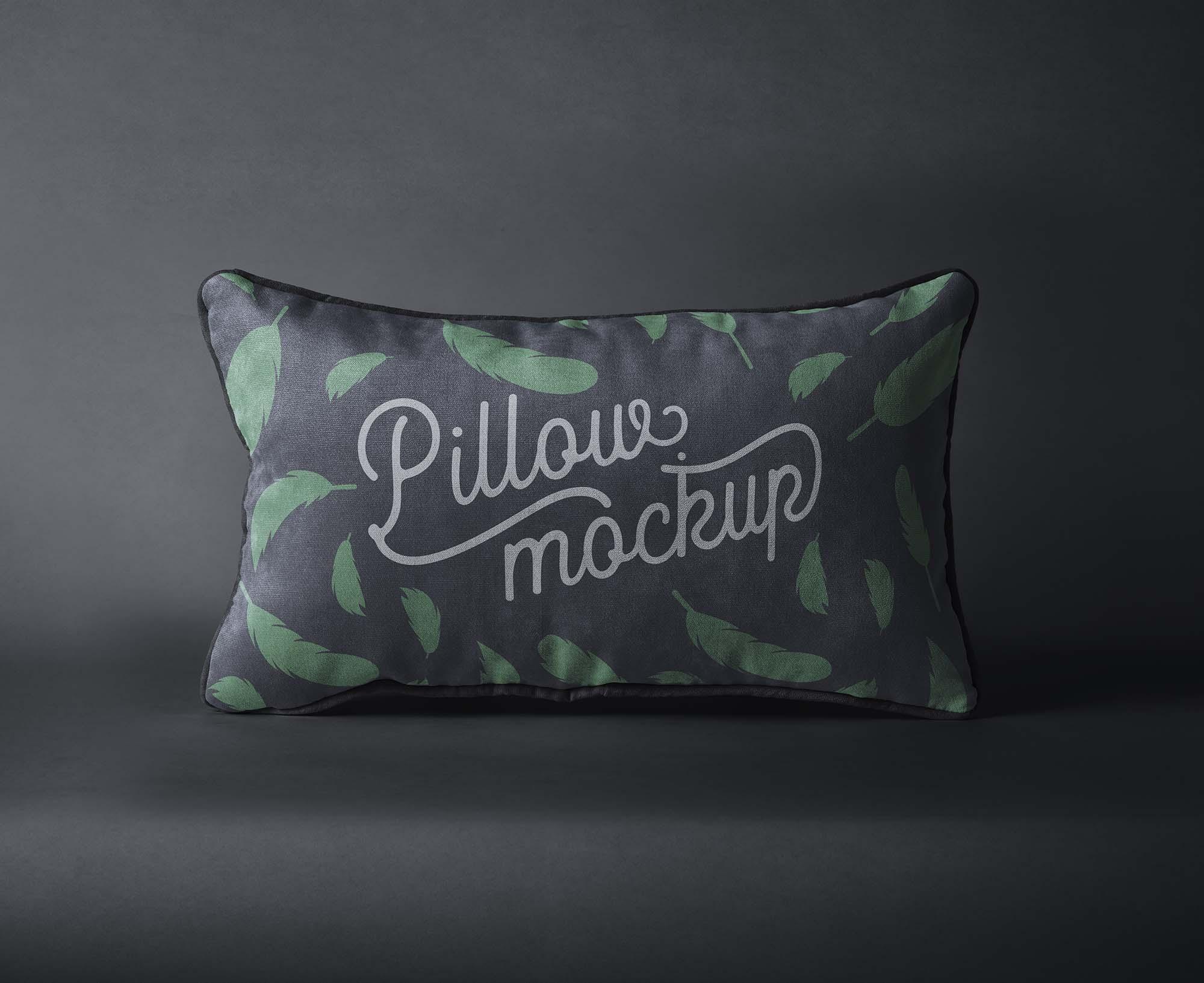 Rectangular Pillow Mockup