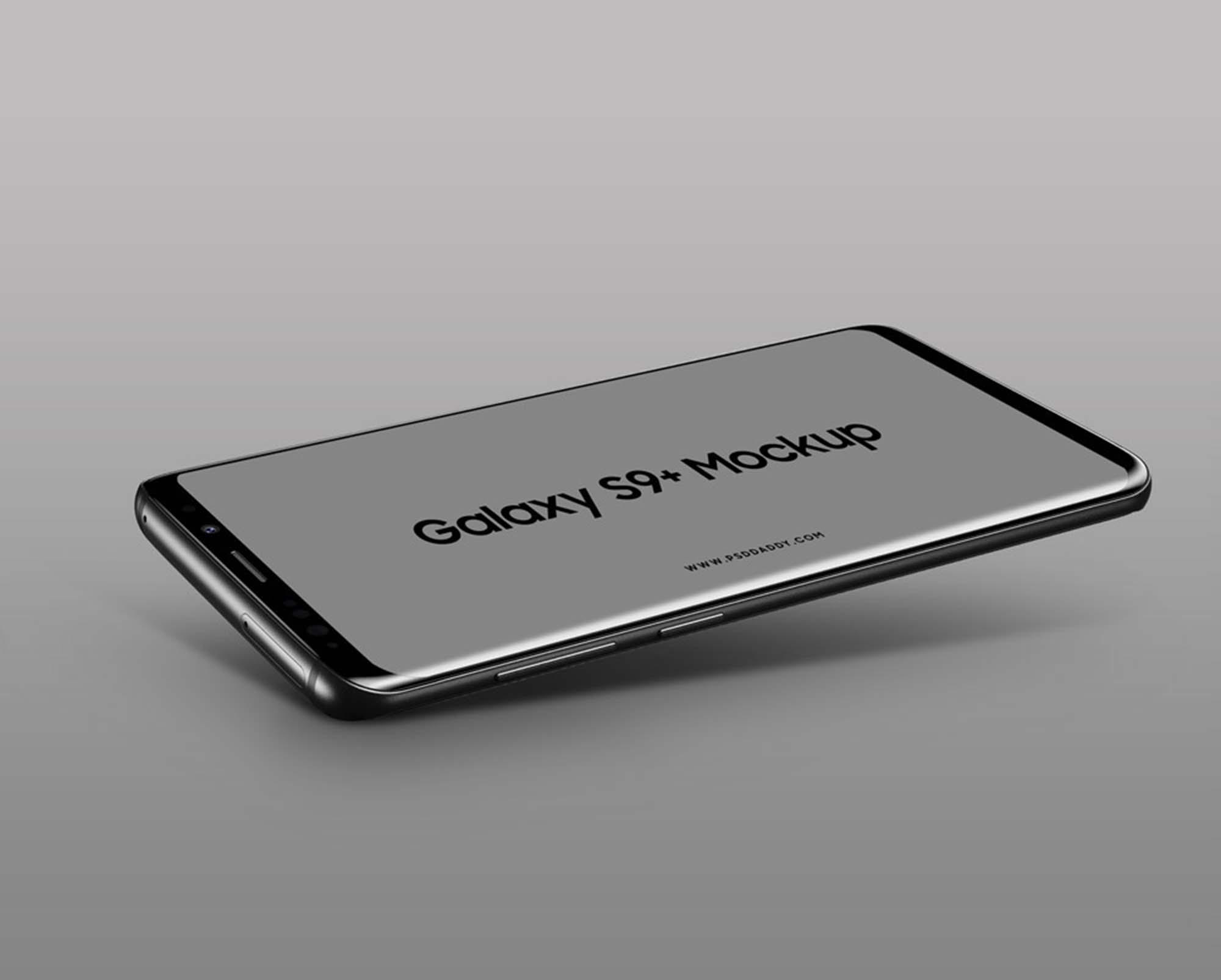 Samsung Galaxy S9 Plus Mockup