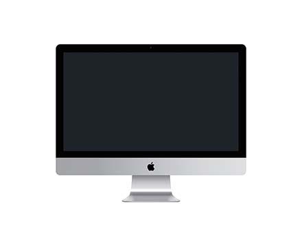 iMac Screen Mockup