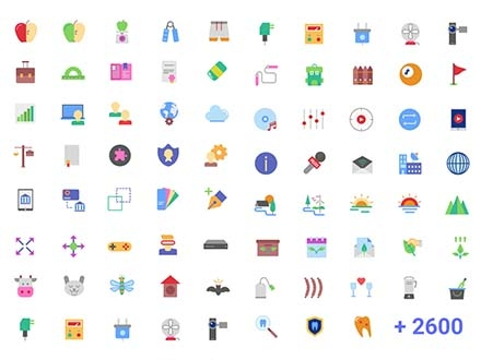 Magicons Flat Icons
