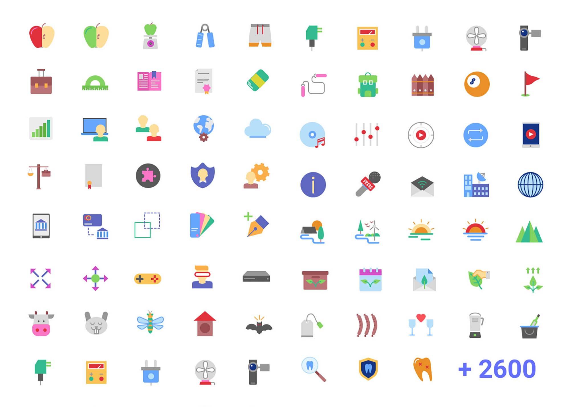 Magicons Flat Icons