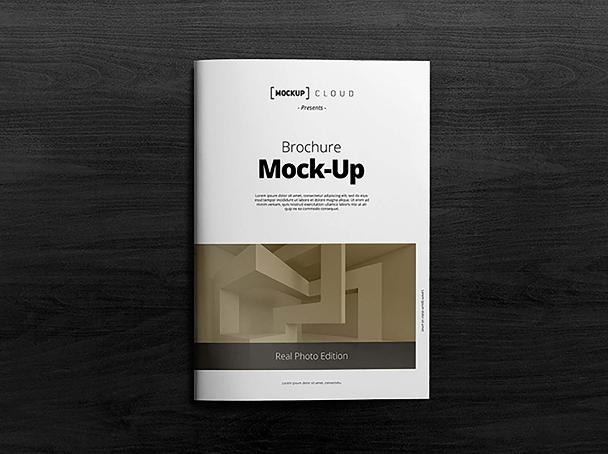 A4 Brochure Mockup 1
