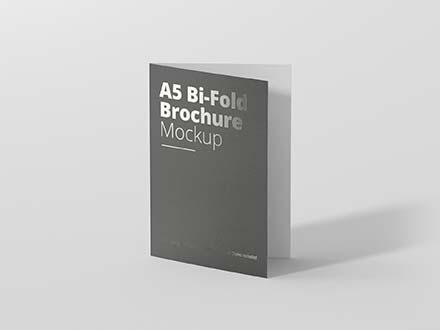 A5 Bifold Brochure Mockup