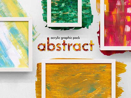 Abstract Acrylic Graphics