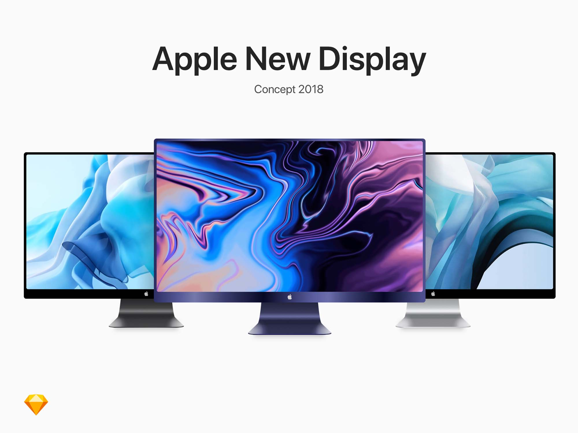 Apple Display Mockup