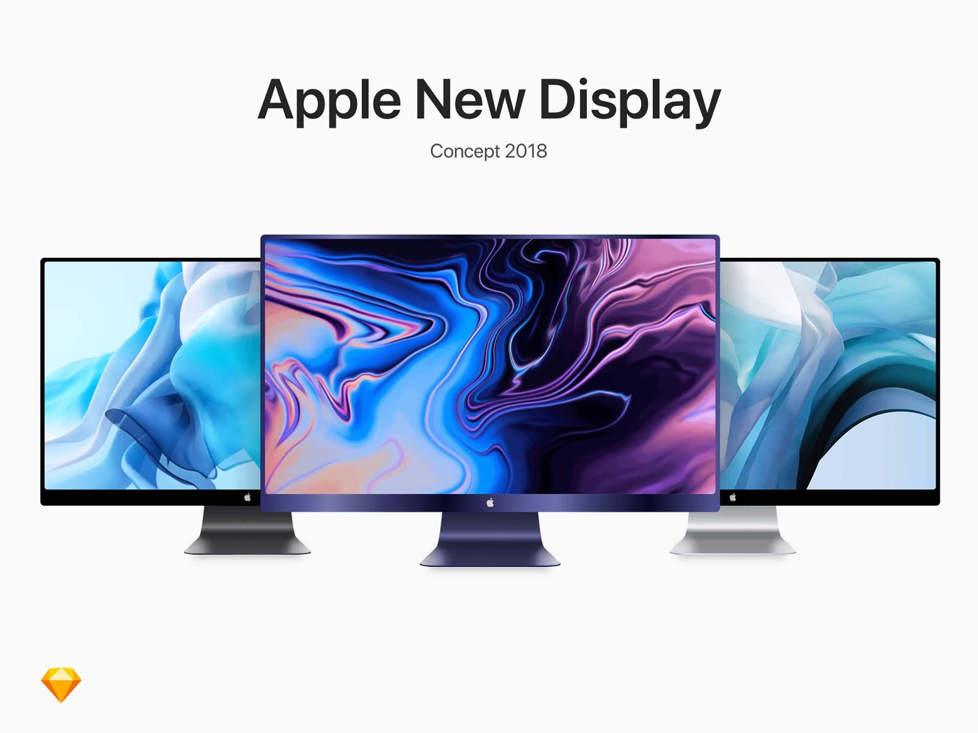 Apple Display Mockup