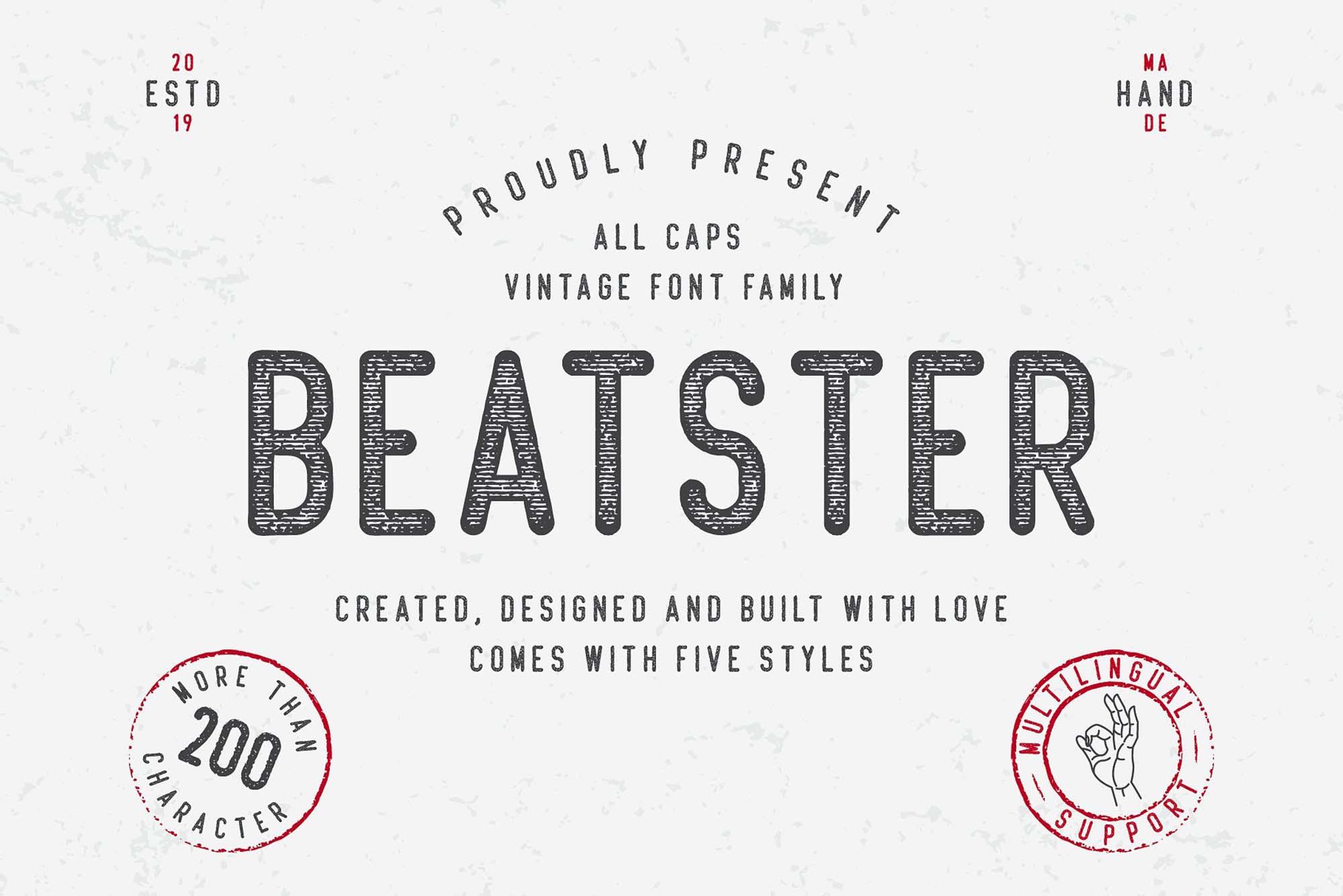 Beatster Font