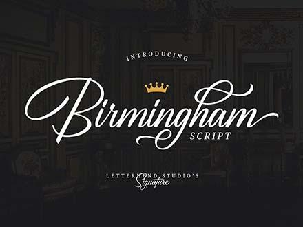 Birmingham Font