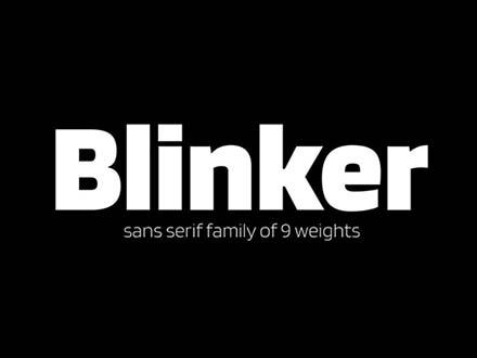 Blinker Font