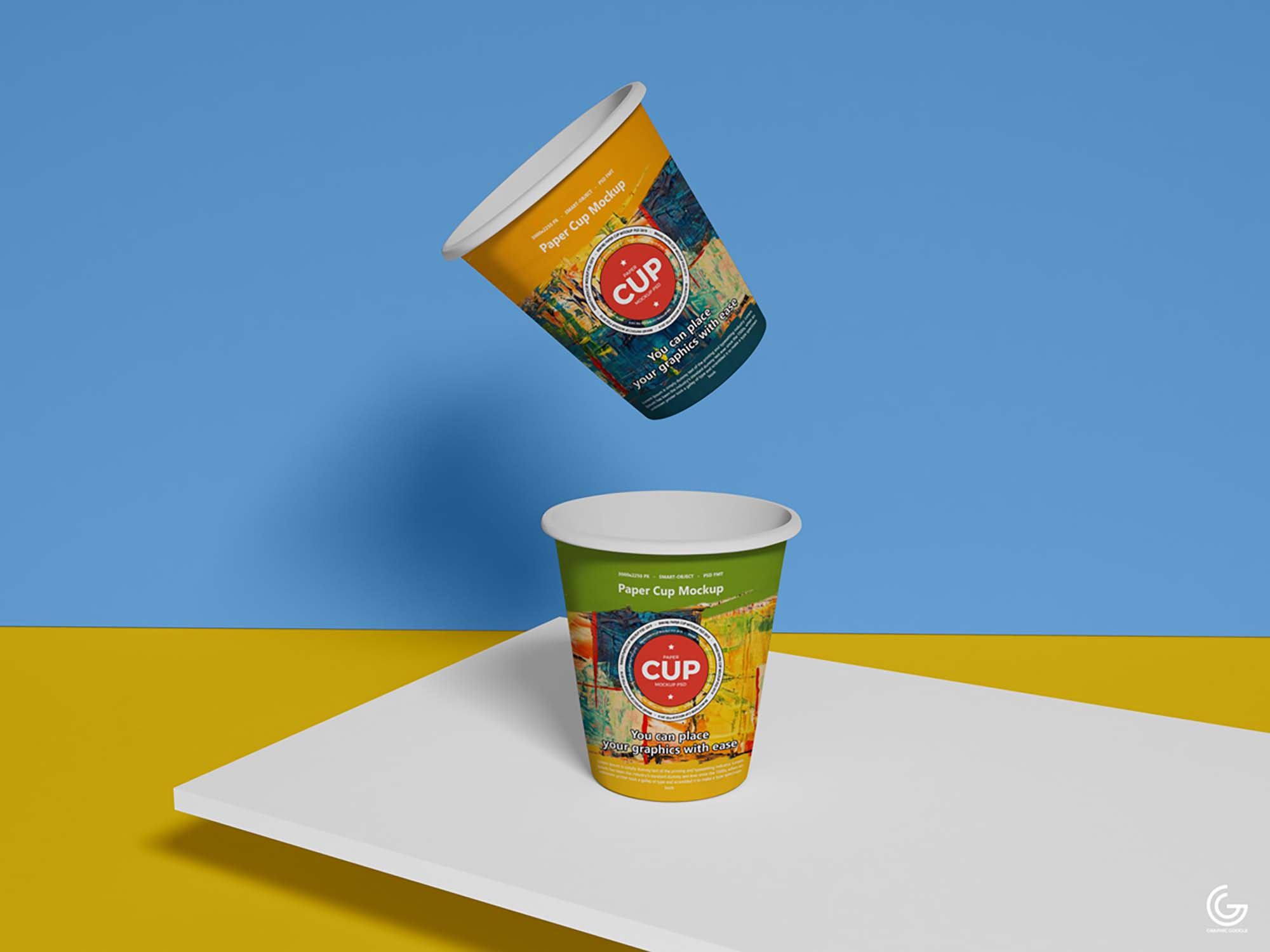 Brand Paper Cup Mockup