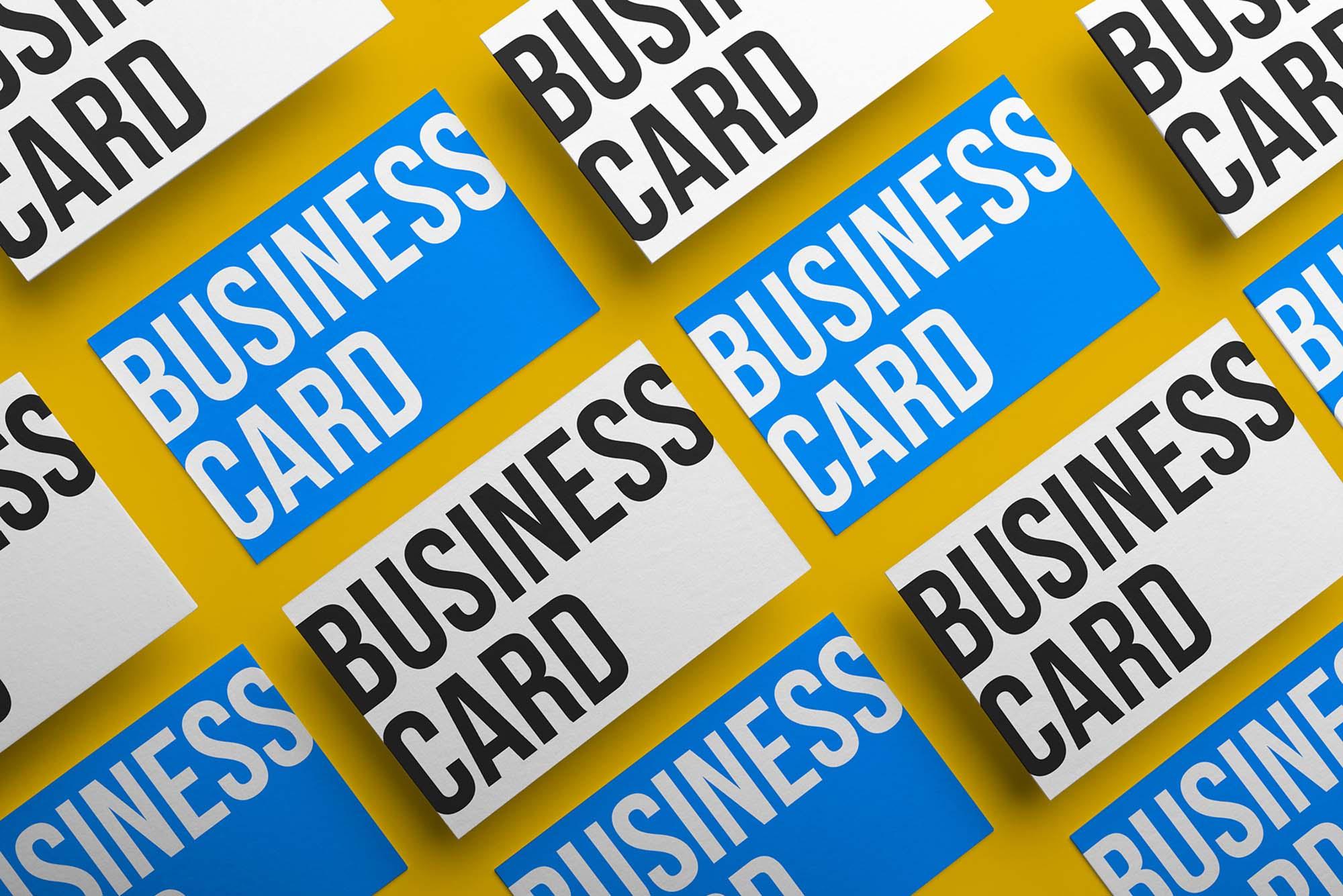 Business Cards Mockup 1