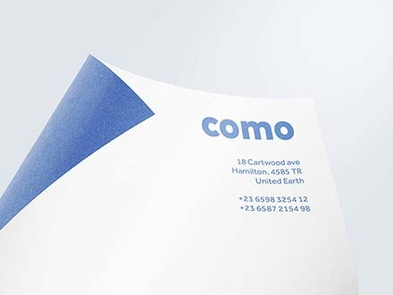 Curved Paper Mockup