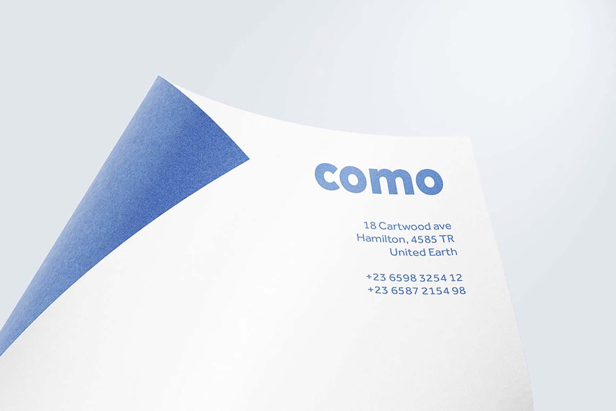 Curved Paper Mockup