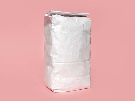 Flour Bag Package Mockup