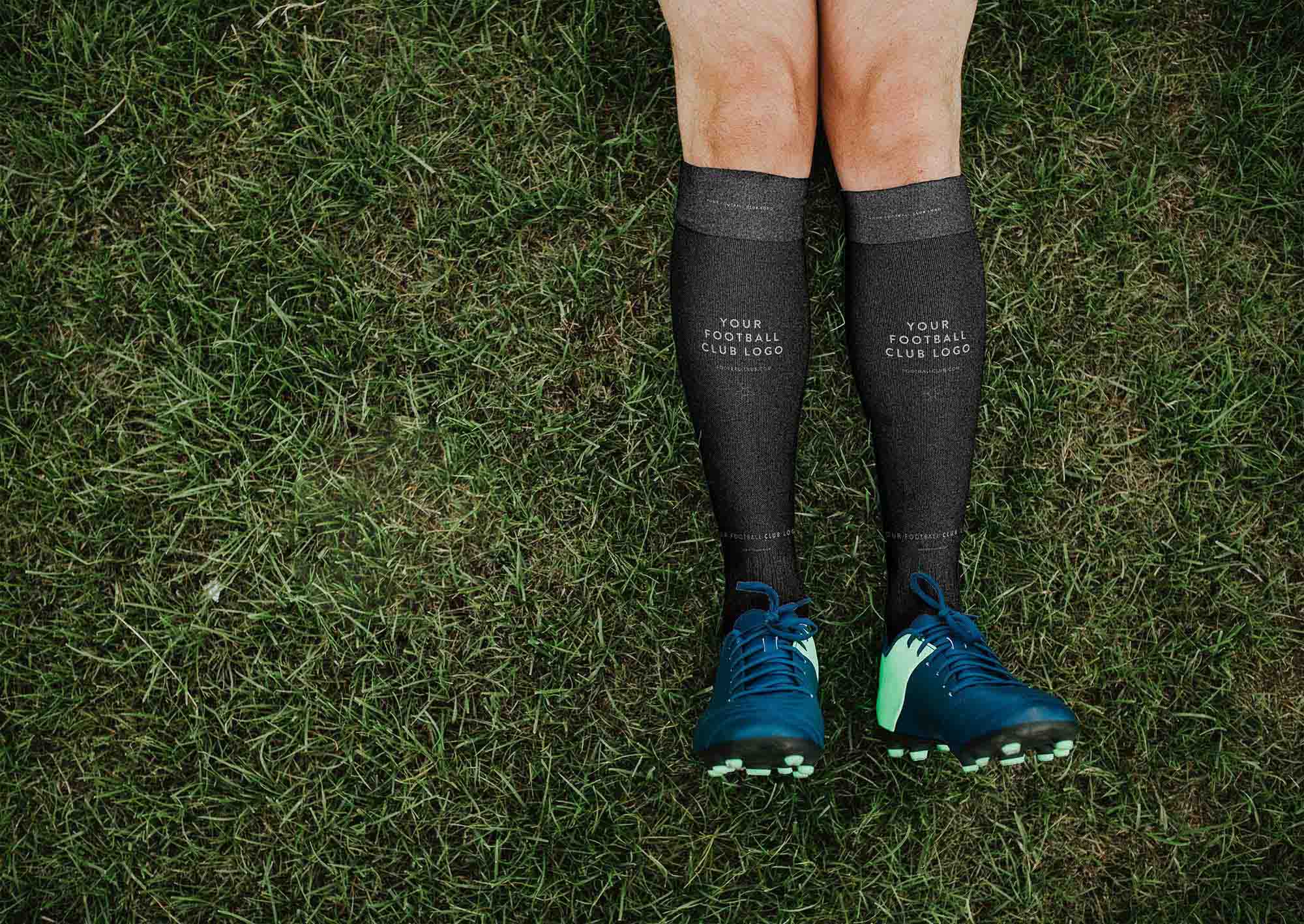 Football Socks Mockup