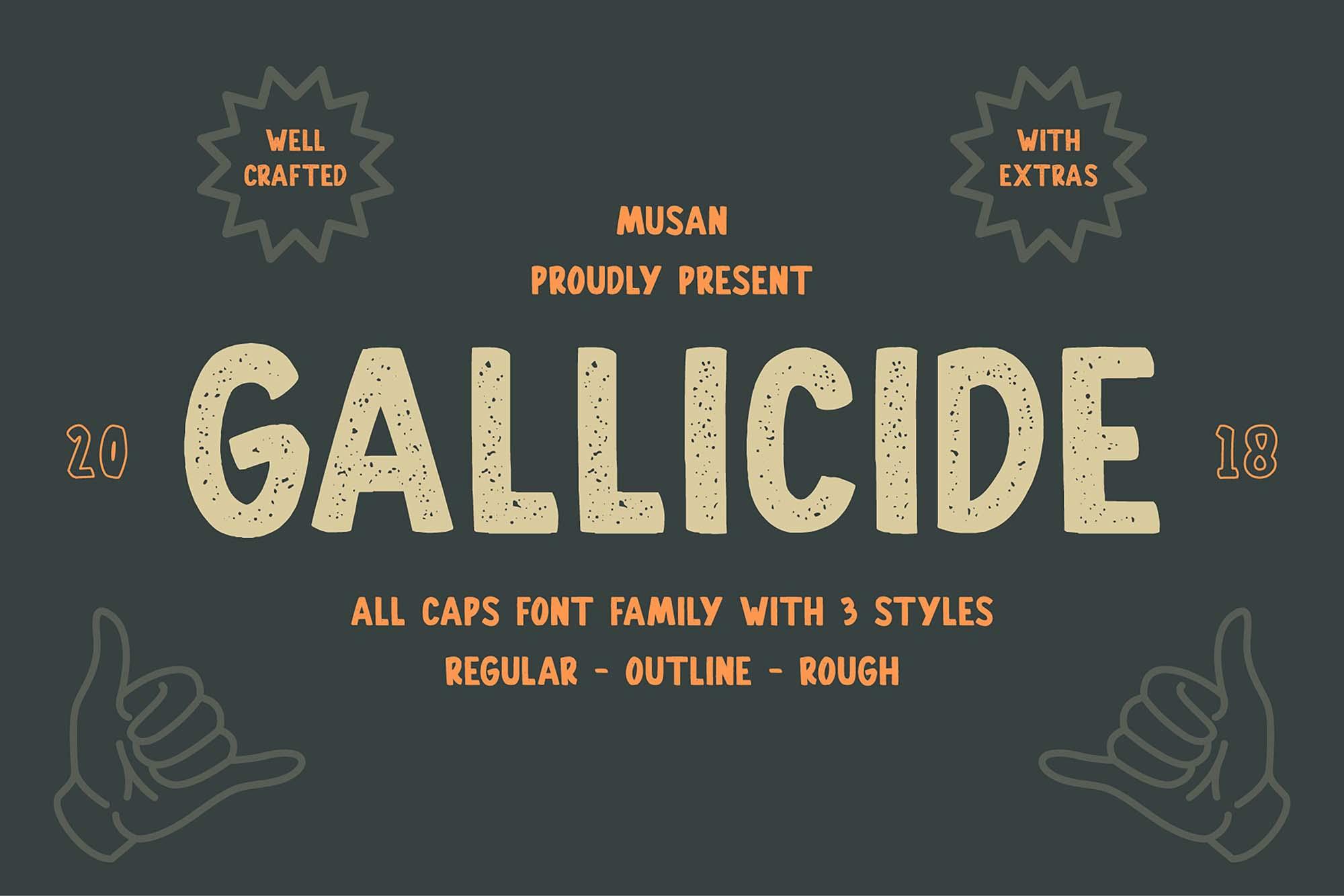 Gallicide Font