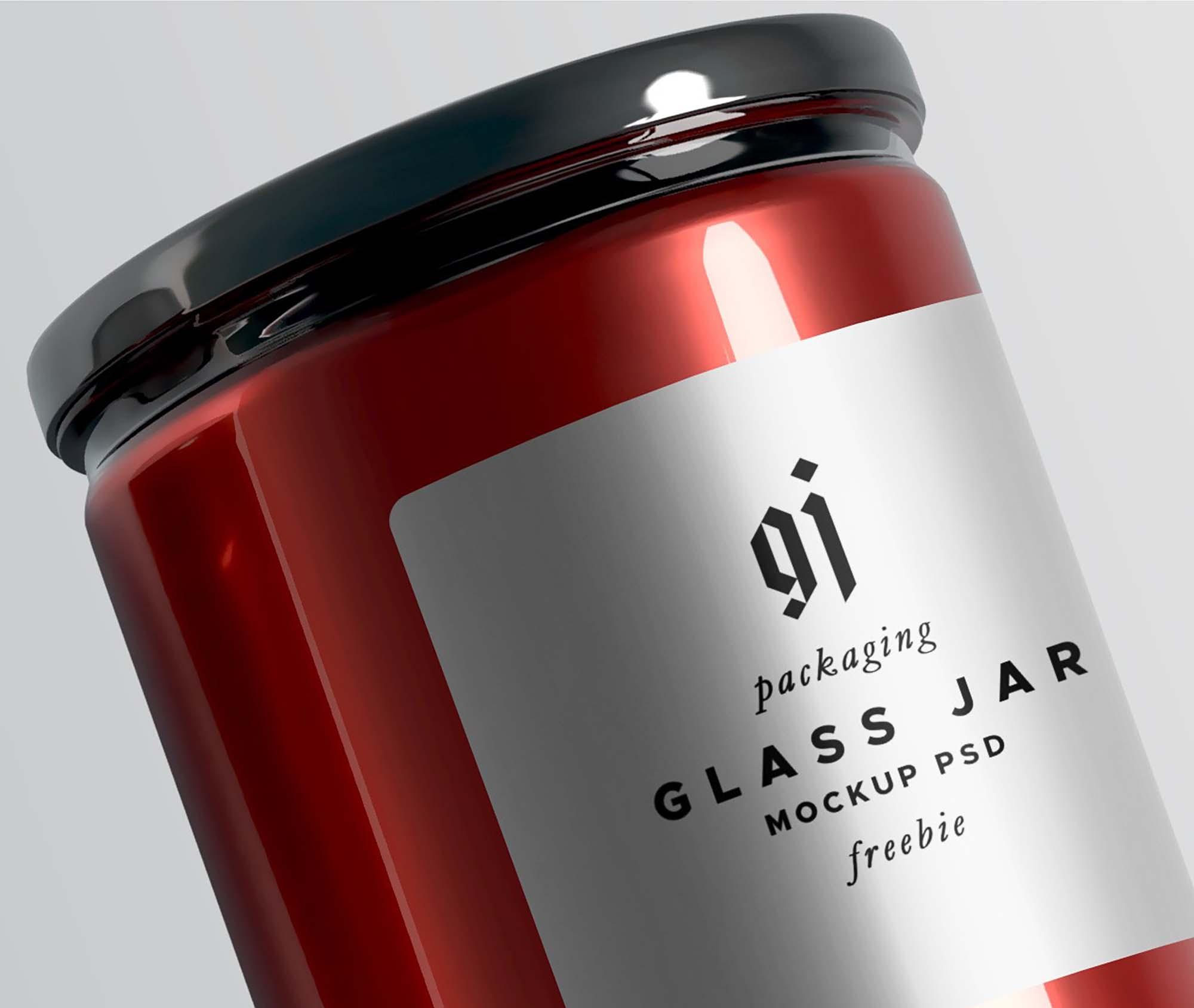 Glass Jar Mockup 1