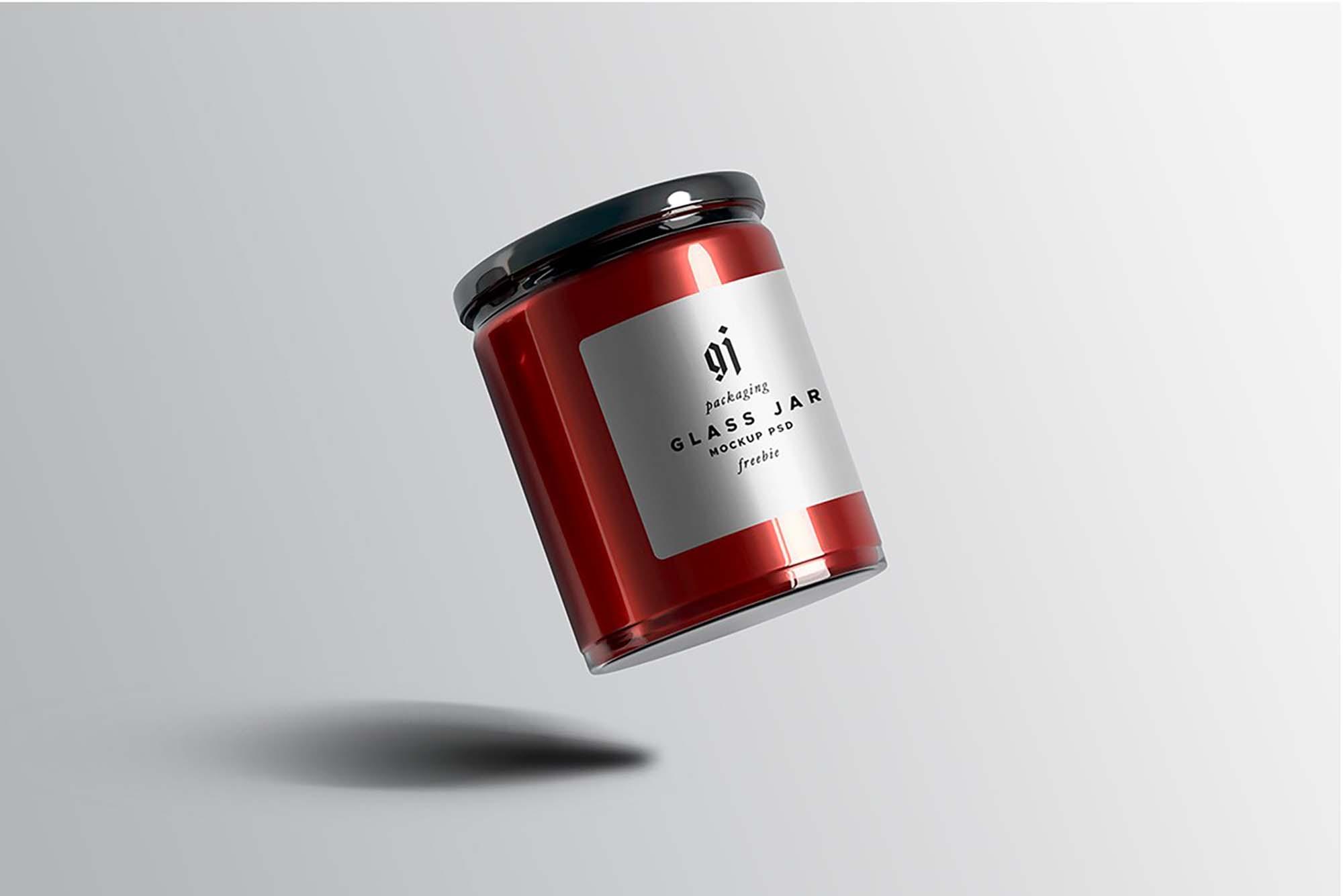 Glass Jar Mockup 2