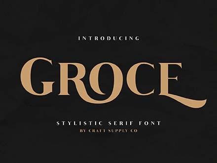 Groce Font