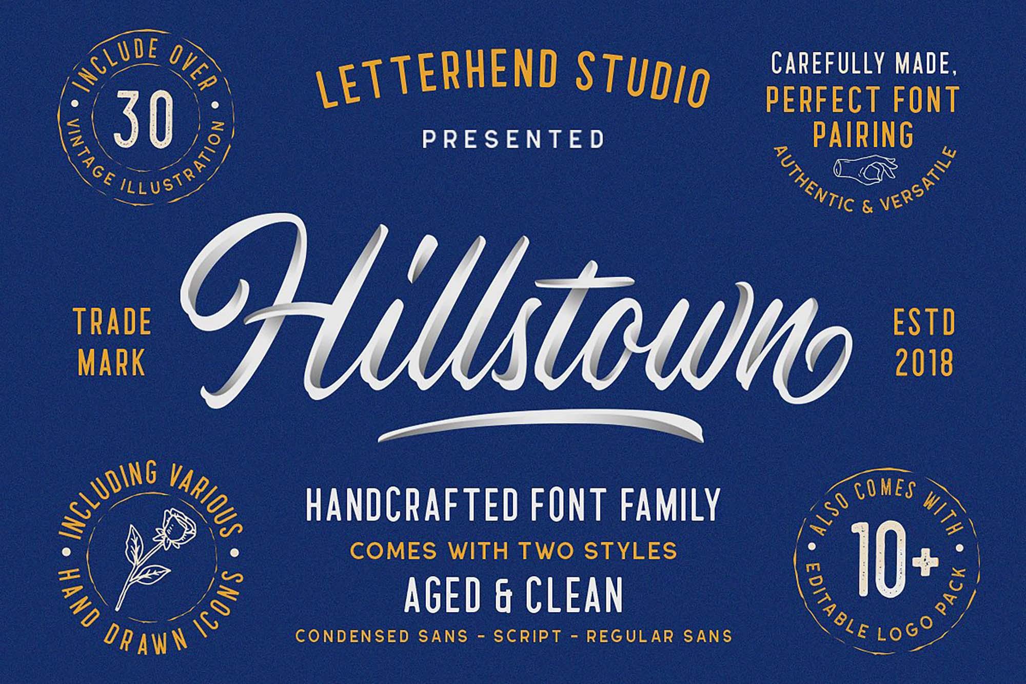 Hillstown Font