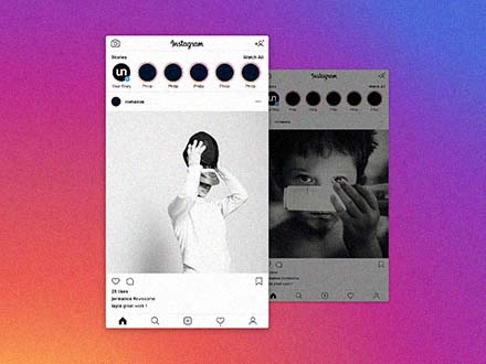 Instagram Post Mockup 2019