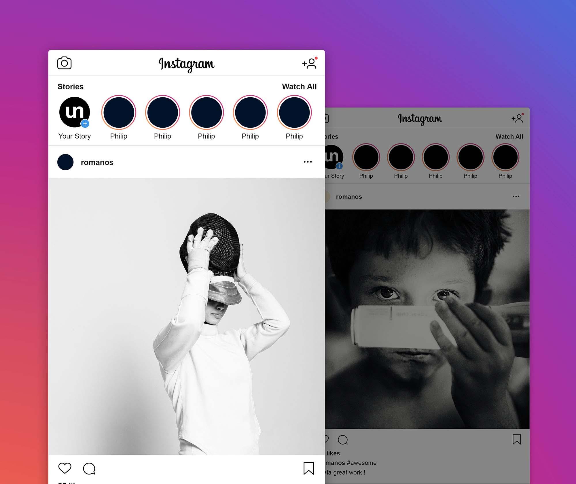 Instagram Mockup 2019