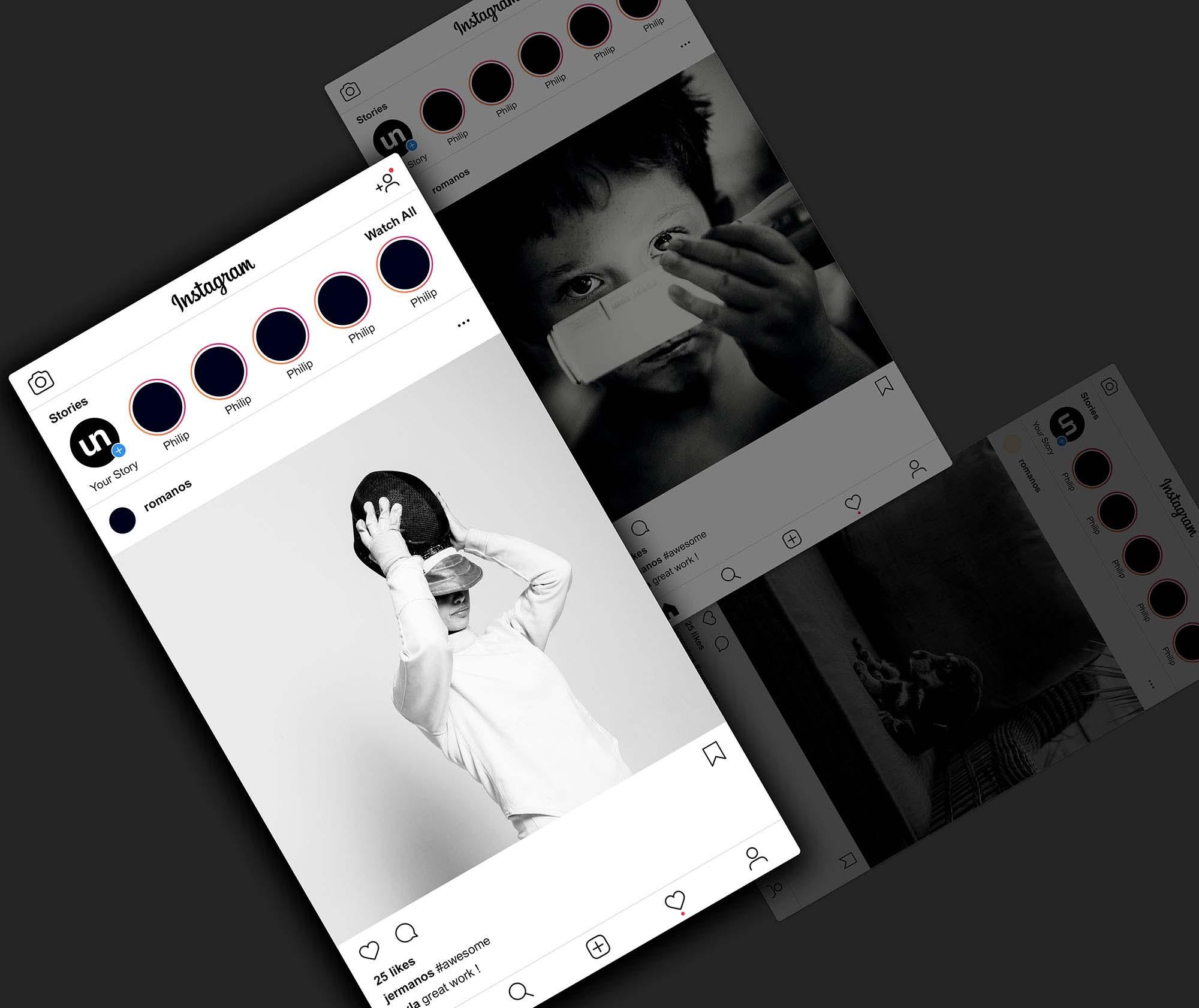 Instagram Post Mockup 2019